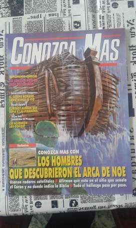 Conozca Mas.1994 Numero 65 Los Hombres Que Descubrieron El Arca De Noe