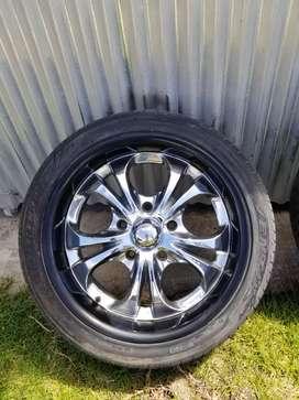 Camaro Nova Aros y Llantas Boss Rin 18 Chevrolet Malibu Chevelle Caprice Impala El Camino C10 Manzana 5x120