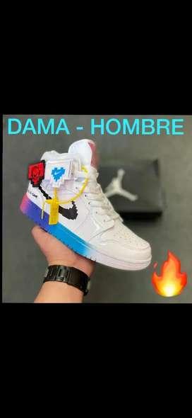 Tenis Nike Jordan Retro 1 Dama y caballero