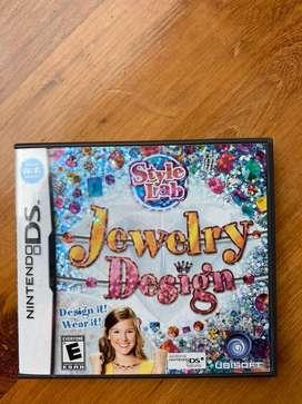 Juego Nintendo DS Jewelry design