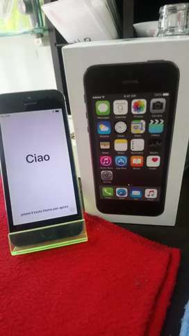 Vendo iphone 5s con caja cargador y factura