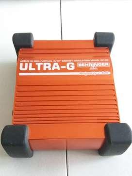 Behringer Ultra G DI Box pedal