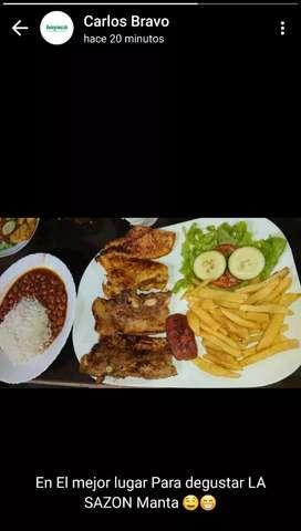 Que tenga experiencia en comida criolla variedad de ALMUERZOS y platos a la carta sea responsable y puntual