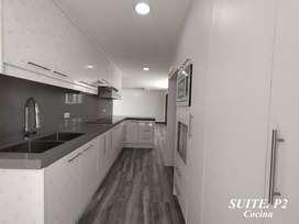 Suite en CUMBAYA La Primavera, Área total de 85m2; Área cubierta 65m2, 1 parqueadero y 1 bodega