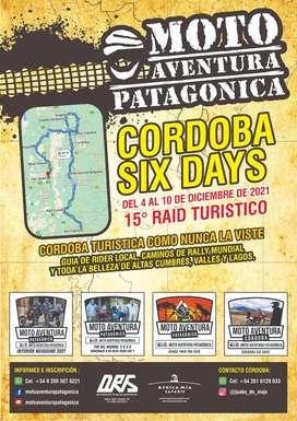 MOTO AVENTURA PATAGONICA RAID PARA MOTOS CORDOBA SIX DAYS