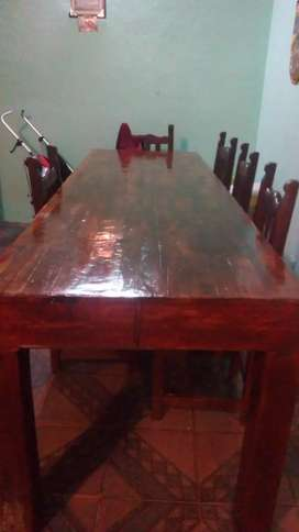 Vendo  mesa pinotea 12mil