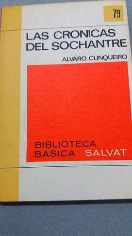 LAS CRONICAS DEL SOCHANTRE ÁLVARO CUNQUEIRO BIBLIOTECA SALVAT