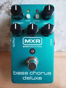 Pedal para bajo MXR Bass Chorus Deluxe