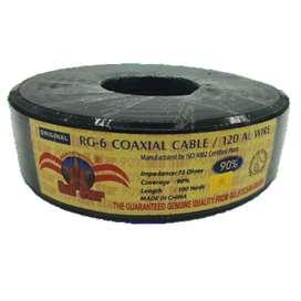 Rollo cable coaxial
