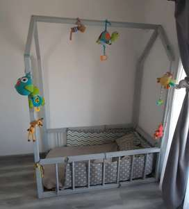 Cama montessori casita