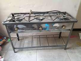 Remato Cocina a gas 3 hornillas