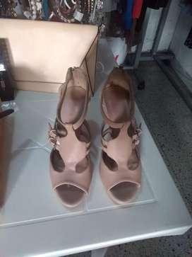 1 sandalias beige talla 38