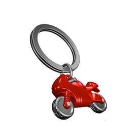 Llavero Moto Roja, de Lujo. Por Banimported