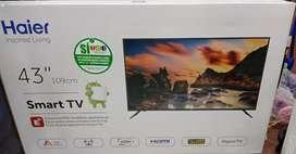 Televisores smart TV de 43 pulgadas