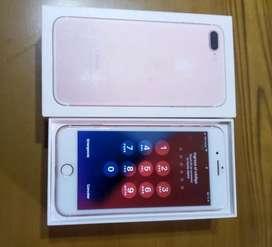 Vendo iphone 7 plus oro rosa 128