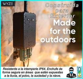 TOMACORRIENTE WIFI EXTERIOR WYZE MUY BUENO HED PRO