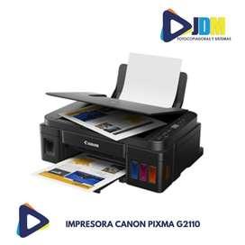 Impresora Canon G2110 Pixma Multifuncional