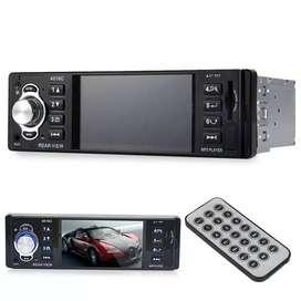 RADIO MP4 CON PANTALLA DE 4 PULGADAS BLUETOOTH USB SD AUX FM