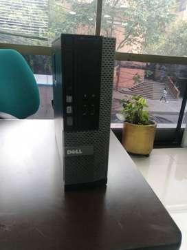 CPU corporativo Dell Optiplex Intel core i5, segunda generacion,- Win 10pro- 8gb- 500gb