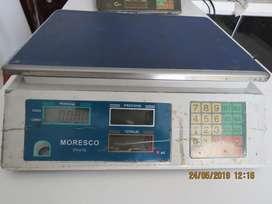 VENDO Báscula electrónica pesa Moresco hasta 30 Kg