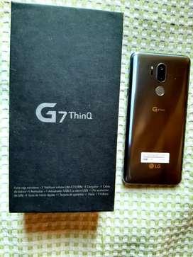 LG G7 thinQ - NUEVO, EN CAJA ,COMPLETO (modelo alta gama  de LG)