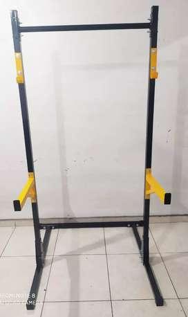 Rack De Pesas Soporte De Sentadillas Ajustable Con Carga Max