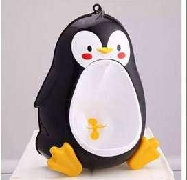 Orinal Niño Y Bebe Pingüino Vasenilla Mica