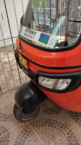 Motocarro tv's listo para traspaso