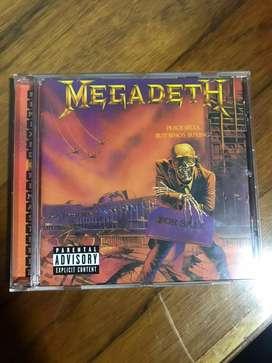 Megadeth peace sells cd