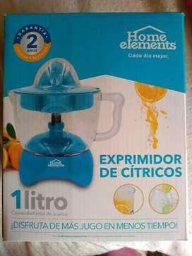 Exprimidor de cítricos Home elements (1 litro)