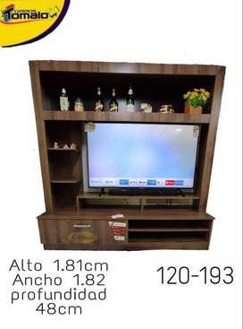 Mueble De Esparta Para Tv 55-58