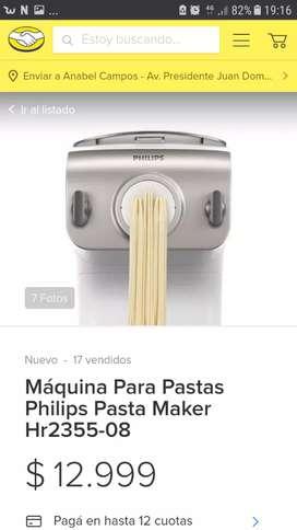 Máquina de pastas Philips Nueva!!!