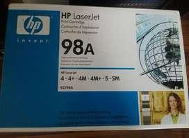 Cartucho de impresión HP 98A
