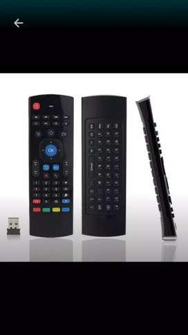 Mouse aéreo y teclado usb. Para su tv smart ,tv box, laptop, vídeo beam, etc