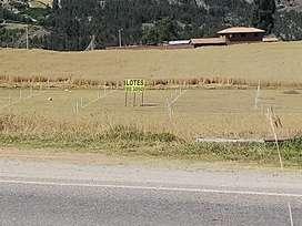 Lotes de terrenos de 500 M2 independizados en Chinchero