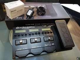 Pedalera Multiefectos Zoom G3xn para Guitarra Eléctrica.