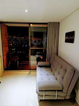 Arriendo hermoso apartamento amoblado en rodeo alto