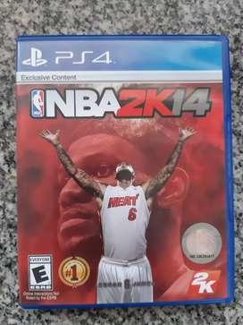 Juego para Ps4 NBA 2K 14
