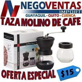 TAZA MOLINO DE CAFE