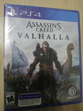 Assassin's Creed Valhalla Ps4 nuevo