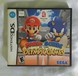 Mario Y Sonic At The Olympic Games Vacio nintendo ds