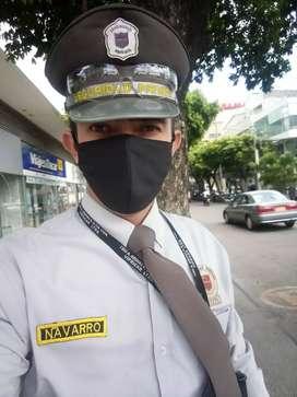 Me ofrezco como guarda de seguridad, cursos actualizados