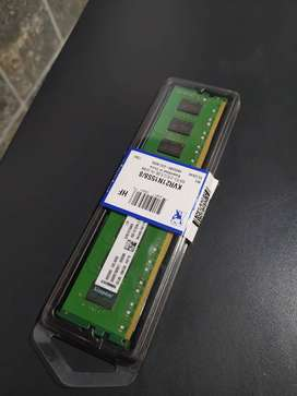 RAM 8GB DDR4 y Gabinete