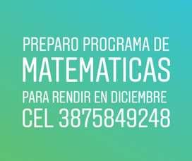 Preparo Matemática