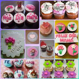 Galletas y Cupcakes para Mamá