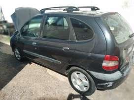 Renault scenic rt 2003 diésel 1.9 full titular 08 firmados gomas nuevas buena mecánica solo a reparar el turbo