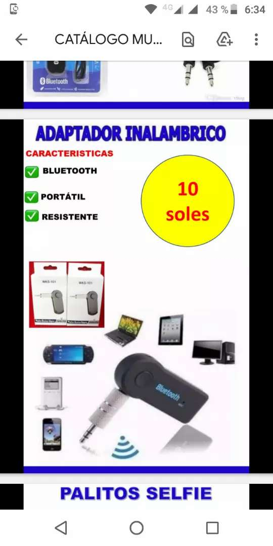 Adaptadores Bluetooth en oferta 0