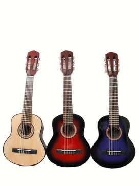 Mini Guitarra Criolla Para Niños 2dvd Aprendizaje Incluido