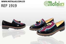 Zapatos Artesanales en Tela Mola. Motalas