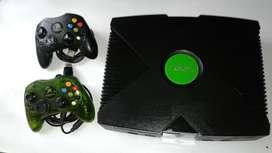 xbox consola negra